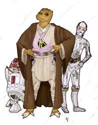 Trandoshan Jedi Scholar by Ryan-Rhodes