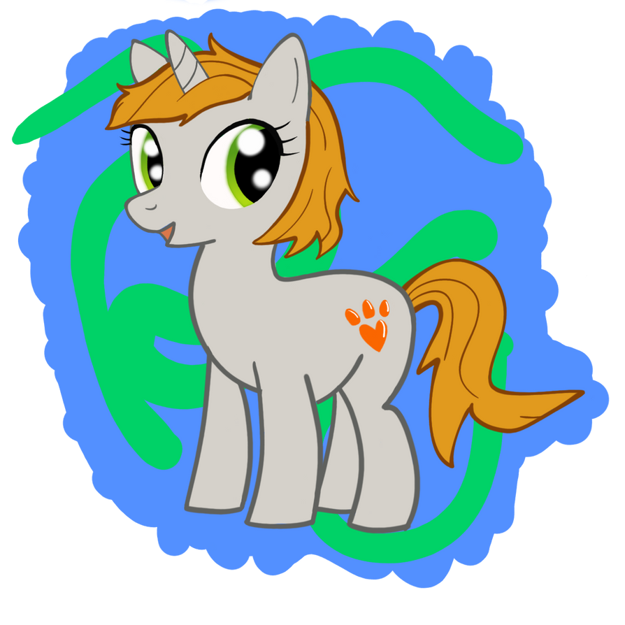 Evvi The Pony (gift) by Nammi-namm