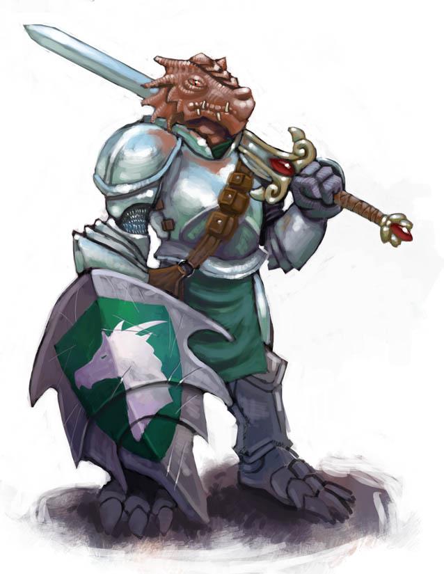 Dragonborn Paladin by Scarecrovv on DeviantArt