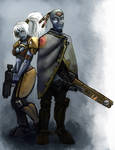 Tau Soldier and Scout