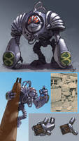 Giant Robot K1 redesign