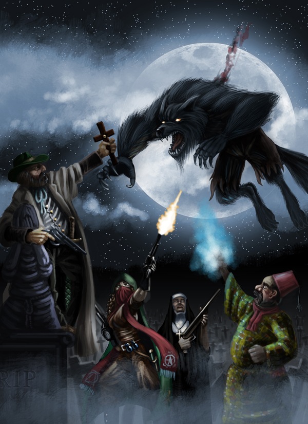 Monster Hunters by Scarecrovv