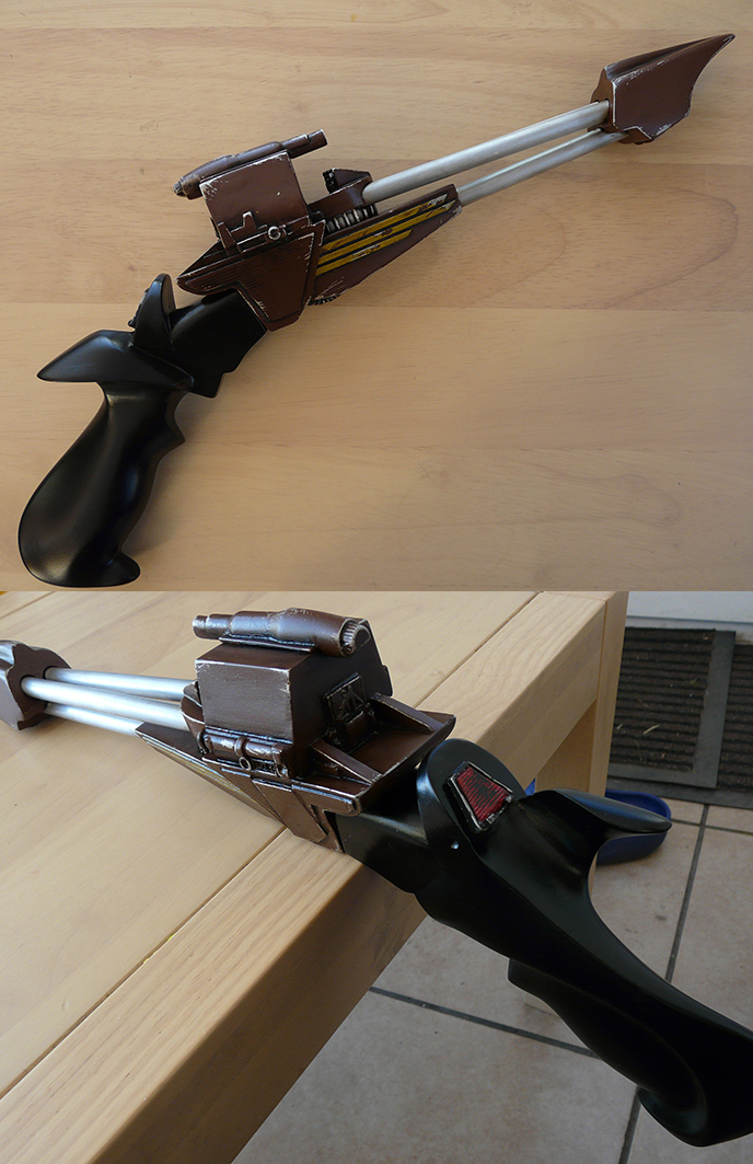 Klingon Disruptor Replica prop by Scarecrovv