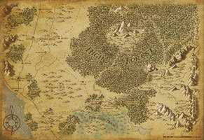 High Forest Map A3