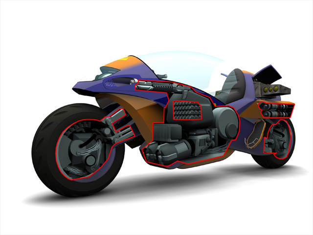 Extreme G 3 Bike Cutaway By Scarecrovv On Deviantart