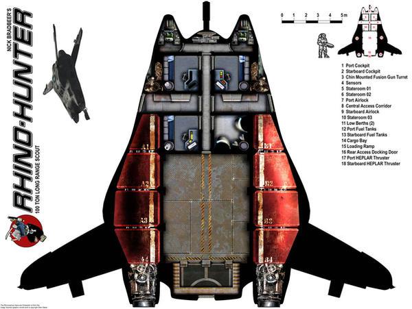 Rhino Dropship Plans by Scarecrovv on DeviantArt