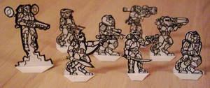 Traveller Paper Miniatures