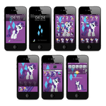 Rarity iPhone and iTouch Theme