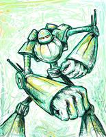 robo punch by casebasket