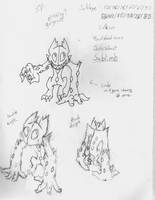 Fakemon: Sablimb by ChronoSquare
