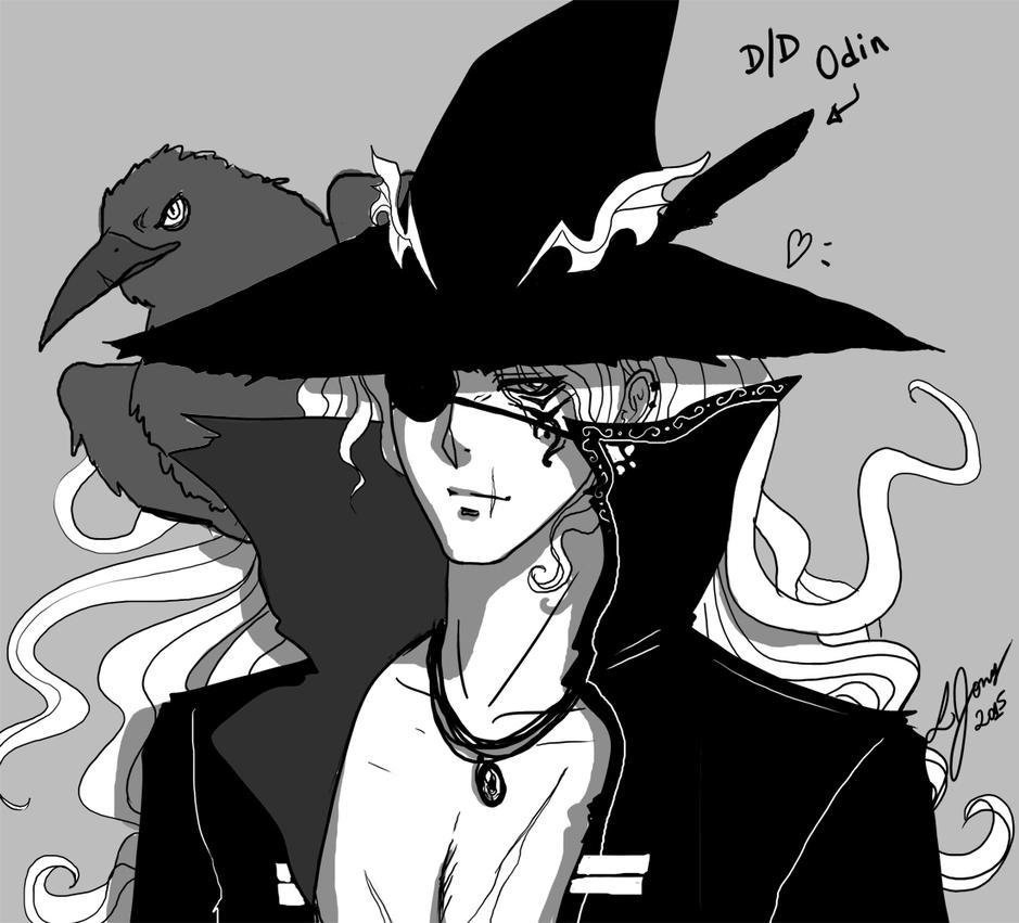 Dark/Dark Odin by Yon-kitty
