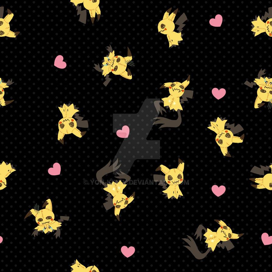 Mimikkyu Black Pattern by Yon-kitty