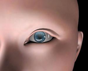 Ashurene eye detail shot
