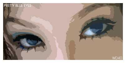 Pretty Blue Eyes by WD40-666