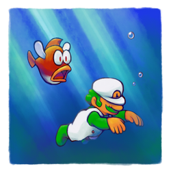 Just keep swimming by DogmanSP