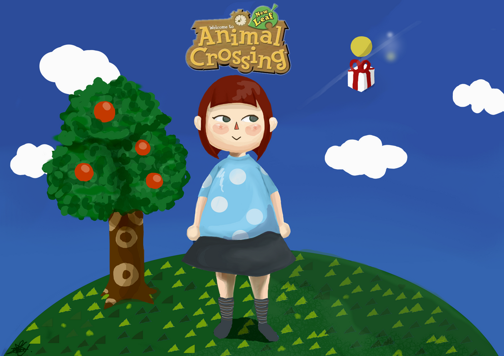 My Animal Crossing Character Fan Art by Faith-Maria-Maurer
