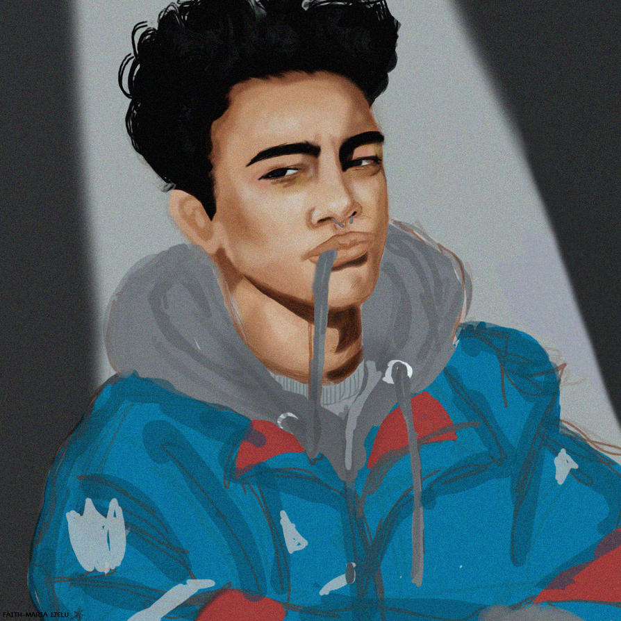 Reece KING (Rough Characterised Digital Sketch) by Faith-Maria-Maurer