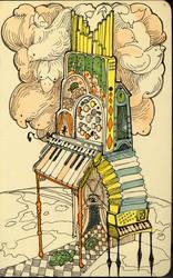 moleskine sketchbook page by BlueBirdie