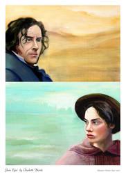 Oil Painting 2007 Jane Eyre by BlueBirdie