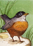Bird Mini Painting 1