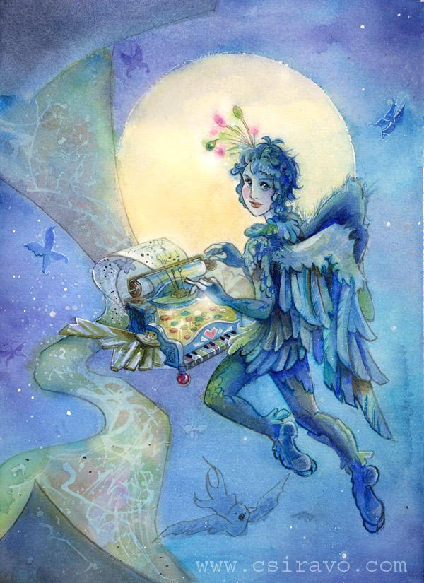 Bluebirdie the Dream Writer by BlueBirdie
