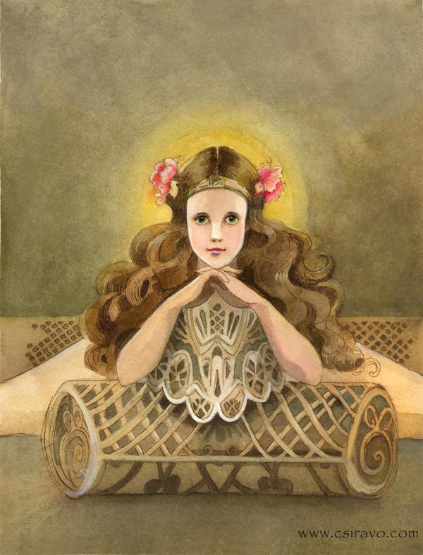 Ozma of Oz, Or Child Saint by BlueBirdie