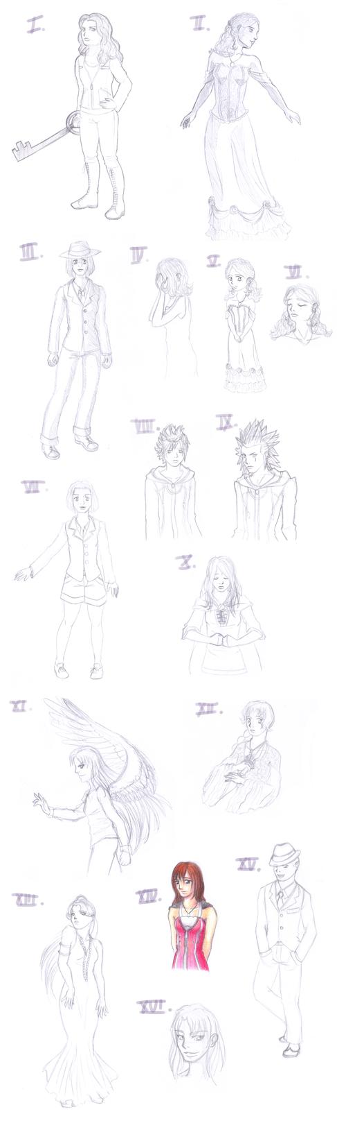 Sketchdump - December 2012 by laprasek