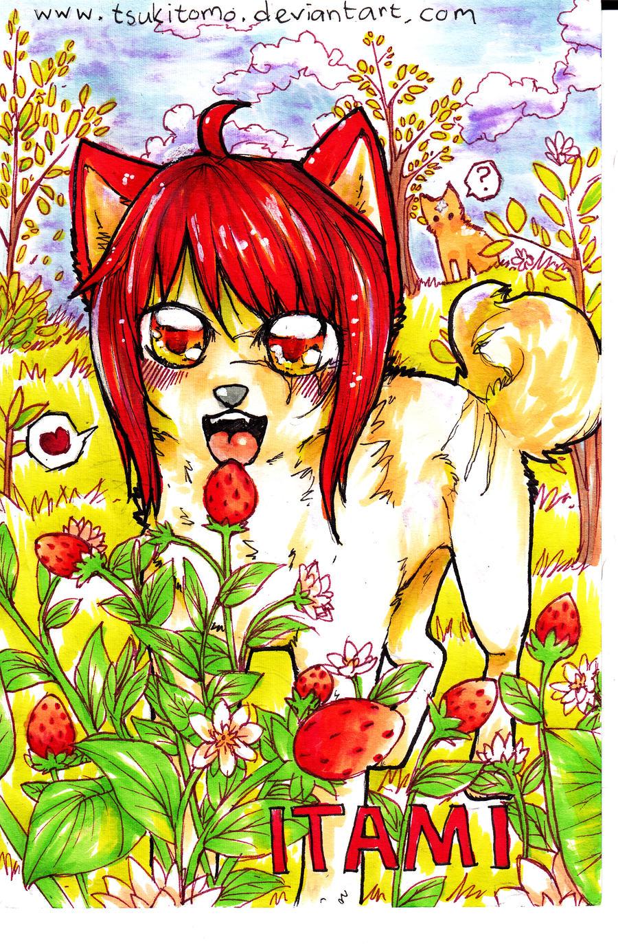 ACEO: Itami berry by TsukiTomo