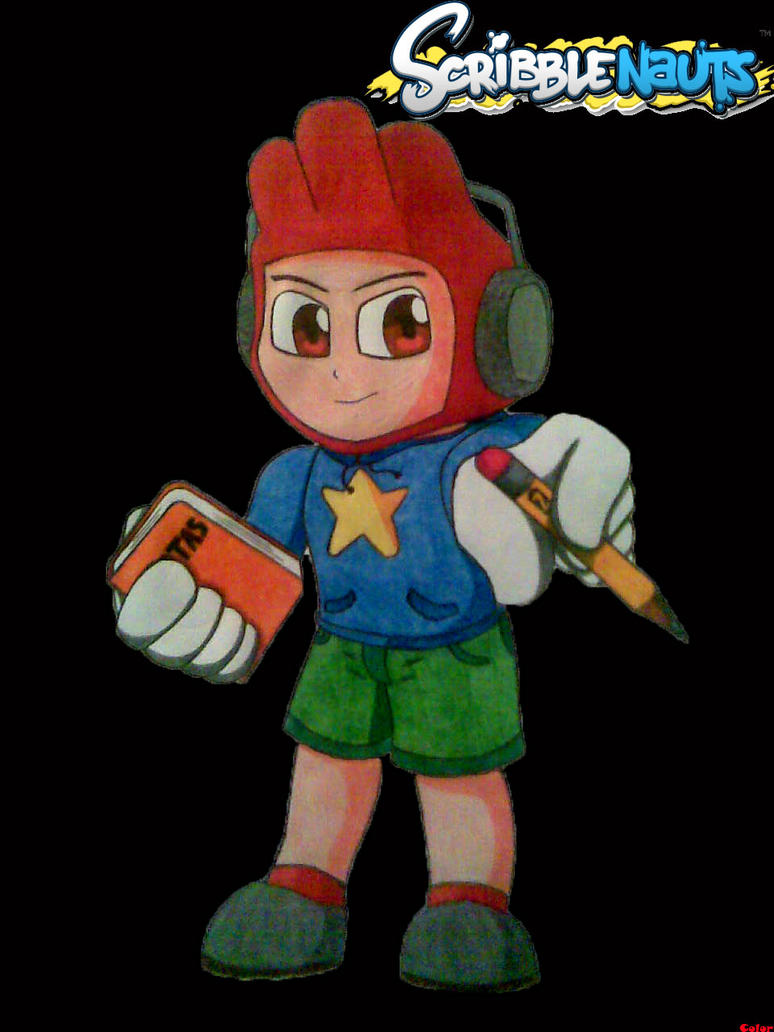 Scribblenauts. Maxwell by digitalgames
