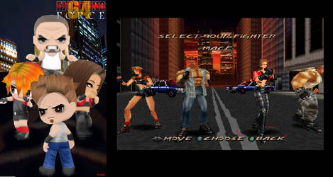 Fighting Force 64/Pc/Psx (BP tribute)