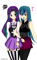 Aria and Sonata by astraltair