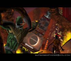 Green Ranger - Times Square by JoeHoganArt