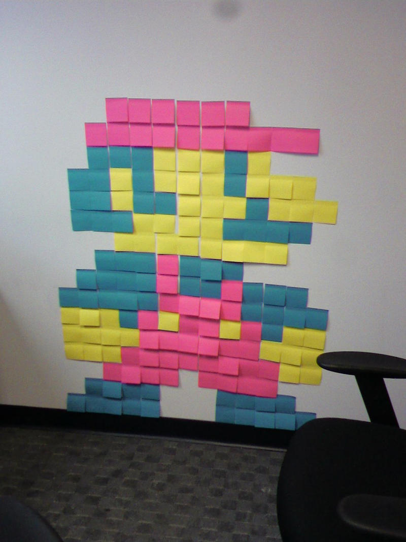 Just for Fun: Mario Post-it