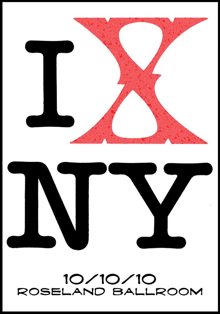 I X NY by JoeHoganArt