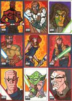 Topps Star Wars Galaxy 6 - 01 by JoeHoganArt