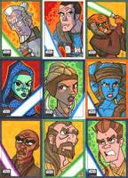 Topps Star Wars Galaxy 6 - 02