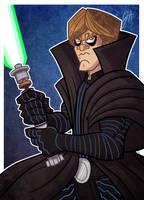 Prize 02 - Dark Empire Luke by JoeHoganArt