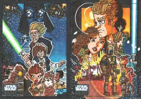 Topps Star Wars Galaxy 6 - 09 by JoeHoganArt