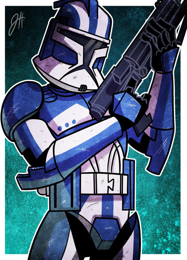 Clone Prize 03 - Old Blue by JoeHoganArt