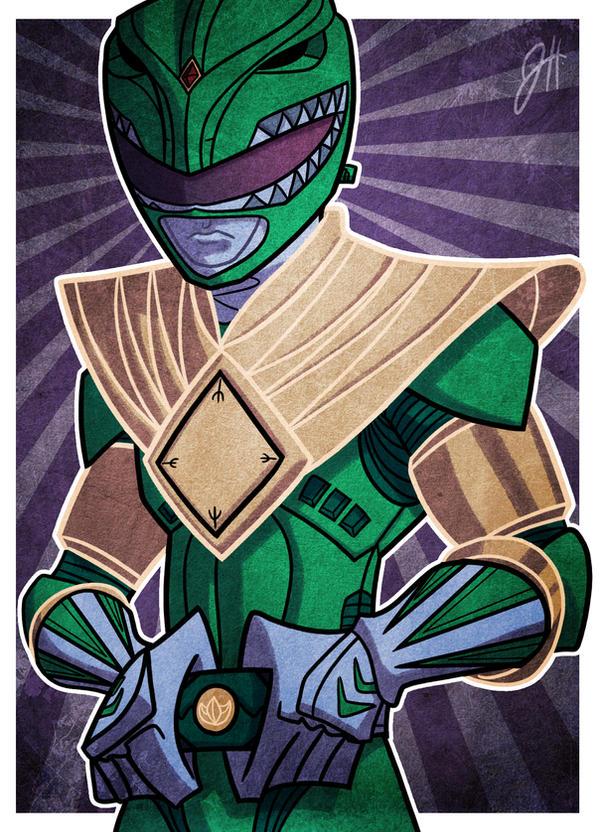 Green Ranger by JoeHoganArt