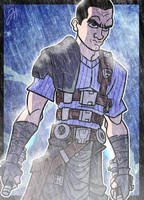 Starkiller Digi Sketch Card by JoeHoganArt