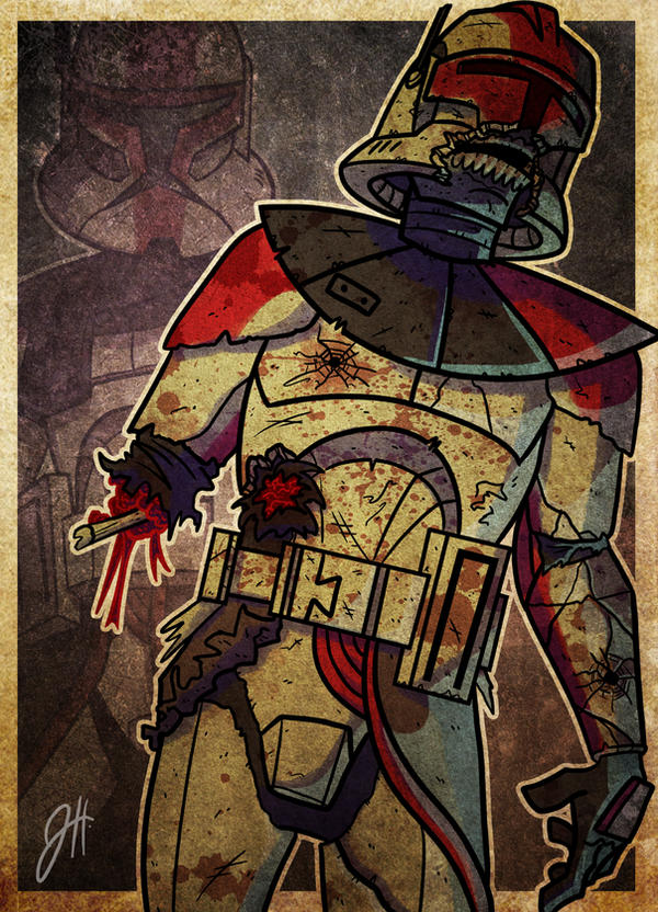 Undead Captain Fordo Phase I by JoeHoganArt