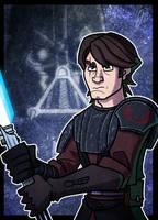 Commish - Anakin Skywalker by JoeHoganArt