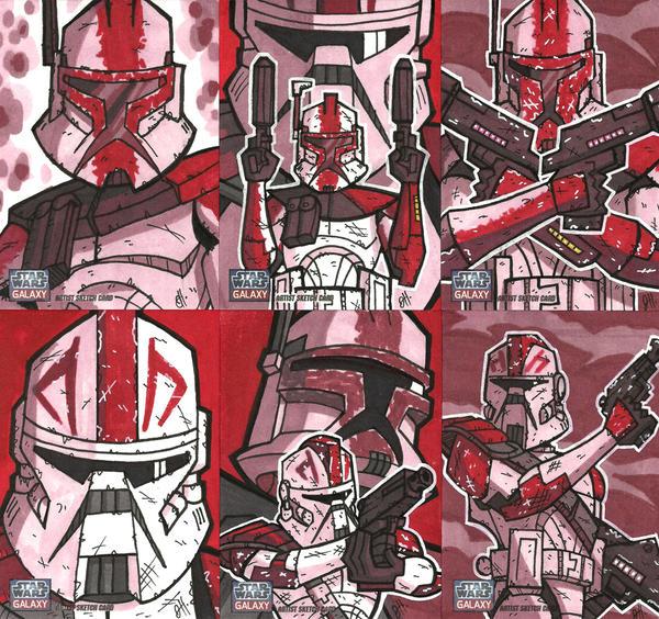 Topps Star Wars G7 - 04 FORDO by JoeHoganArt