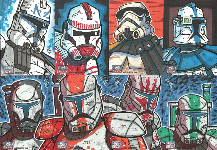 Topps Star Wars G7 - 05 Troops by JoeHoganArt