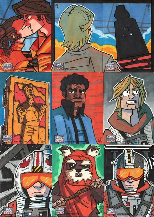 Topps Star Wars G7 - 06 OT by JoeHoganArt