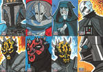 Topps Star Wars G7 - 09 Baddies