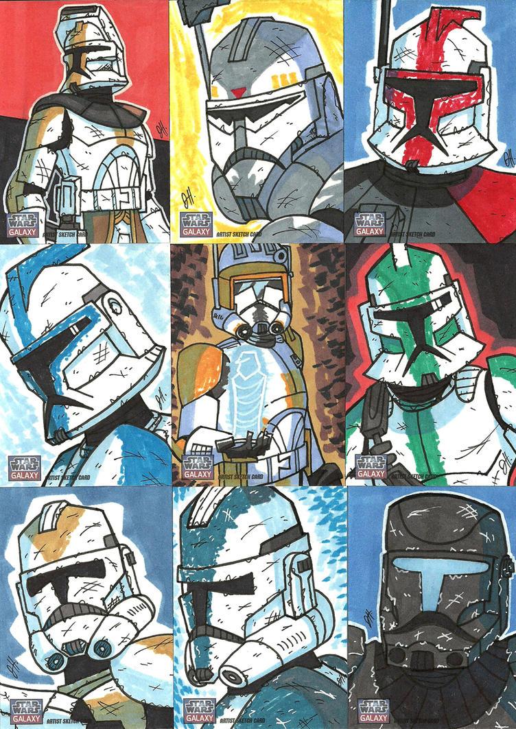 Topps Star Wars G7 - 15 Troops by JoeHoganArt