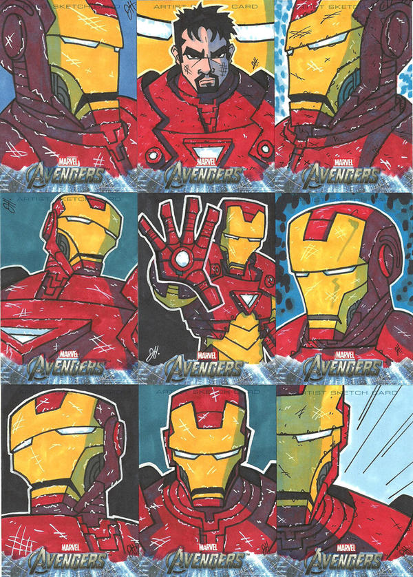 Upper Deck - Avengers - Iron Man by JoeHoganArt