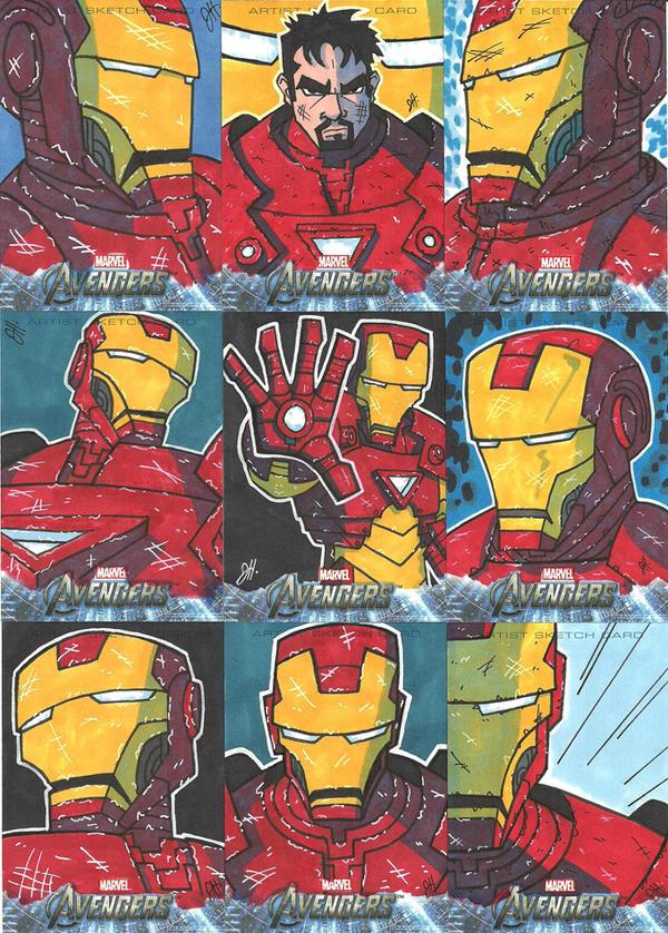 Upper Deck - Avengers - Iron Man by JoeHoganArt